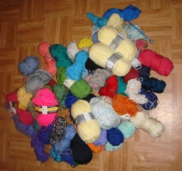 Dons de Laine de tricoteuse d`Europe Laine Discount à Luneville (54)