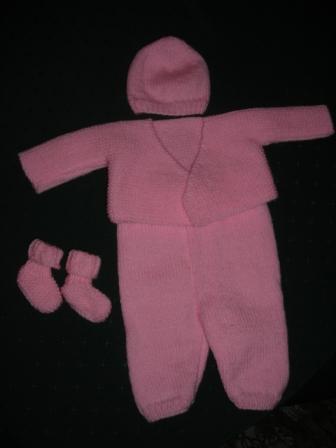 Offert par des tricoteuses du Lunevillois