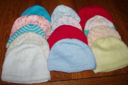 Offert par des tricoteuses du Lunevillois (54)